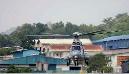 Chopper at BHICAS (flying)