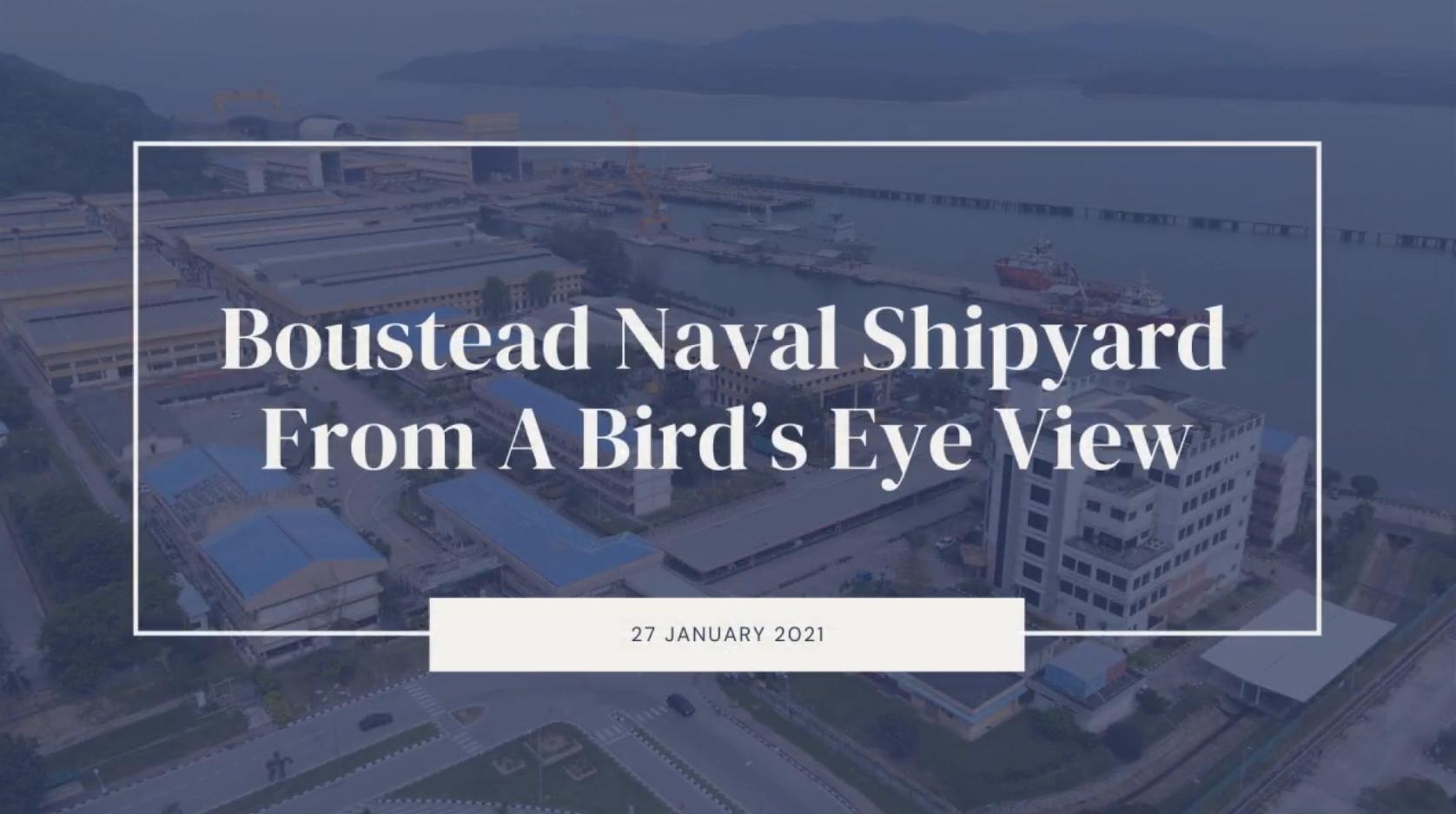 Boustead Naval Shipyard From A Bird's Eye View